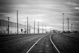 Train Tracks in Oakland