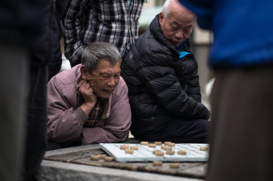 Chinese Checkers, Chinatown, SF