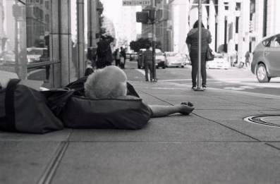 HomelessSleeping